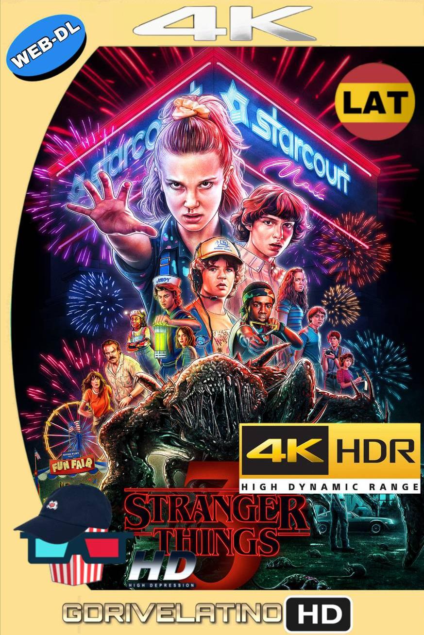 Stranger Things 3 (2019) Temporada 3 Web DL 4K HDR Latino-Ingles MKV