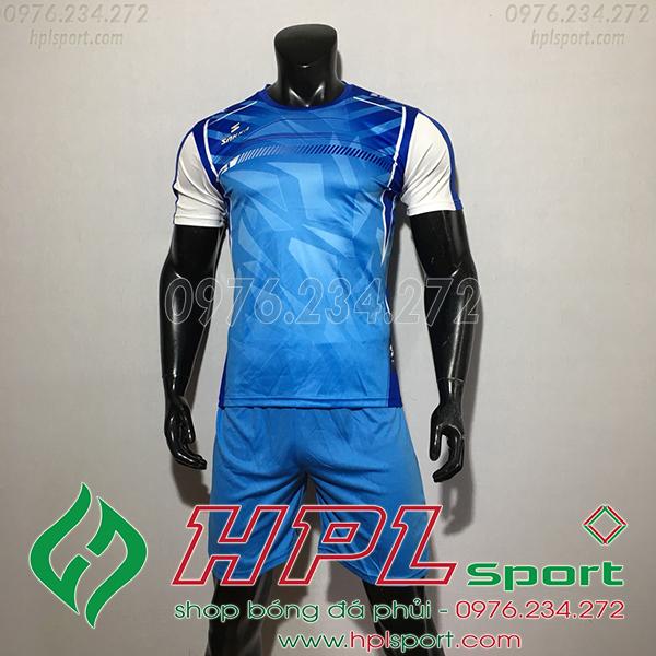Áo Ko Logo Saka HKC Màu xanh nhạt 2020