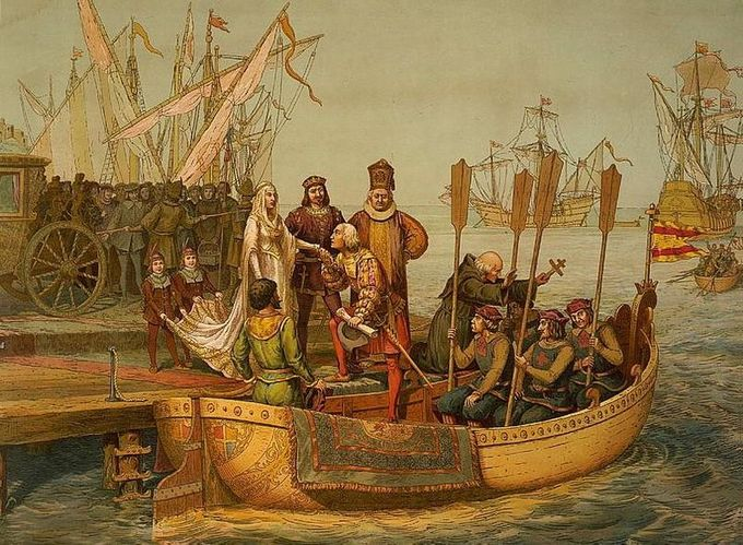 The first voyage of Spanish exploration