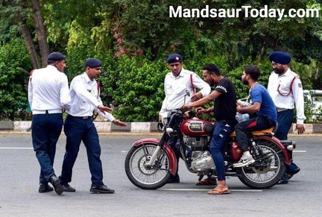 लॉक डाउन में घूम रहे थे फालतू , पुलिस प्रशासन ने करी सख्त कार्रवाई ।