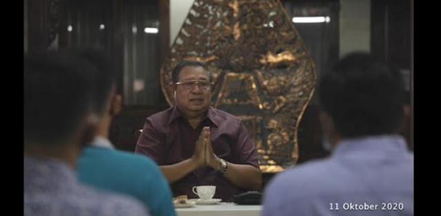 Soal Dalang Demo, SBY: Baiknya Disebutkan, Kalau Tidak Negara Membuat Hoaks