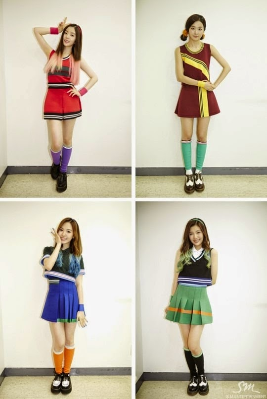 On Stage Fashion Red Velvets Happiness Era  The Kpop