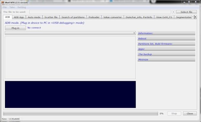 MTK Tool V2.51 WWR  - MediaTek Scatter Stock ROM Modifier