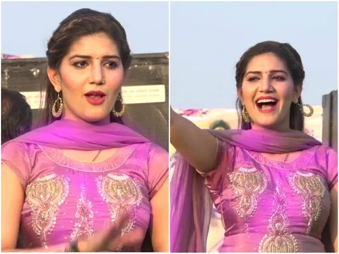 Sapna Choudhary created a ruckus on the stage with tremendous dance, people showed such a reaction, watch the video