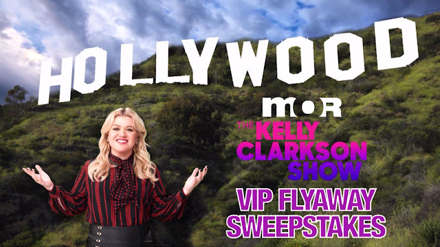 MOR TV wants to send one lucky winner and a guest from Tampa, Florida to Los Angeles, California to take part in a live taping of The Kelly Clarkson Show!