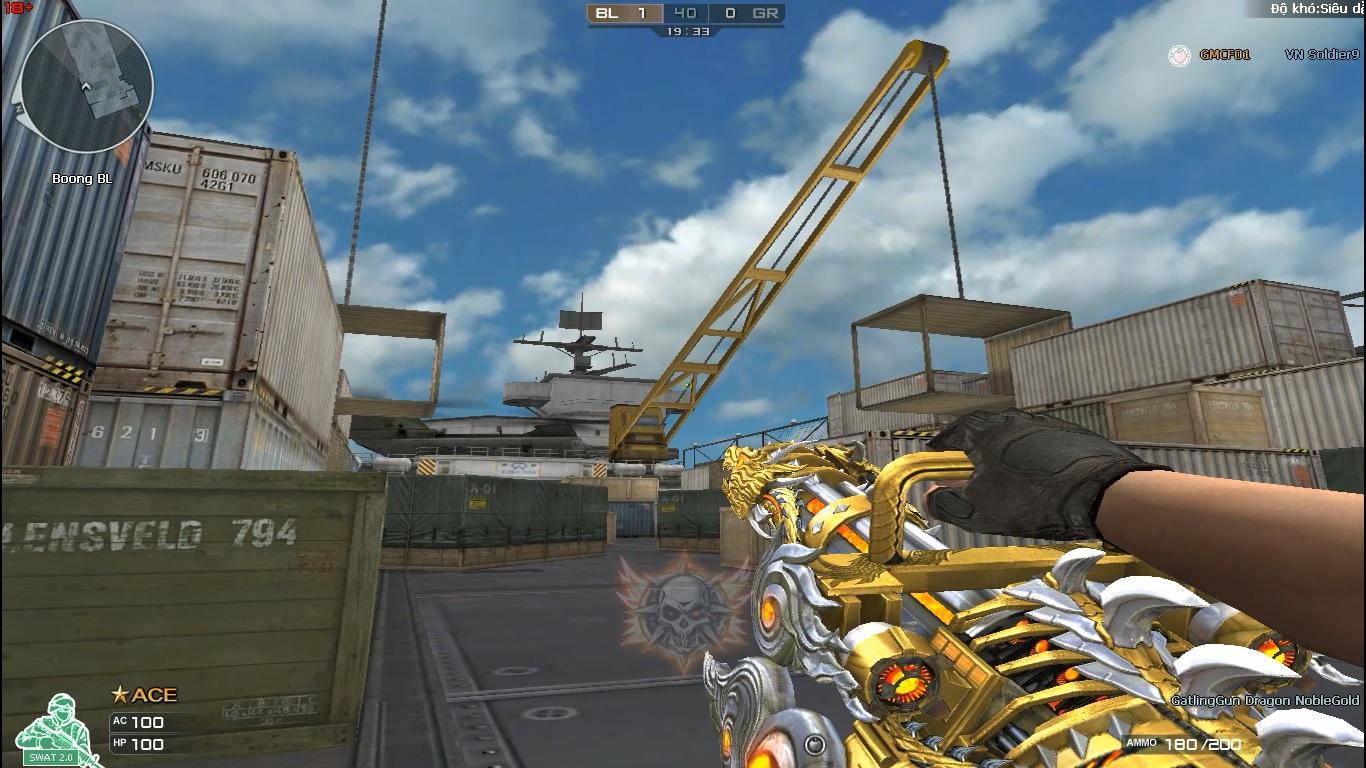 SHARE MOD GATLING GUN VIP NOBLE GOLD CHẾ ĐỘ 1 NGƯỜI | BUG ALL