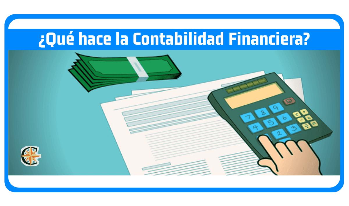 que hace la contabilidad financiera