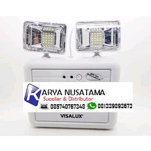 Jual Mata Kucing Kotak Lampu Emergency Visalux 40 LED di Batam