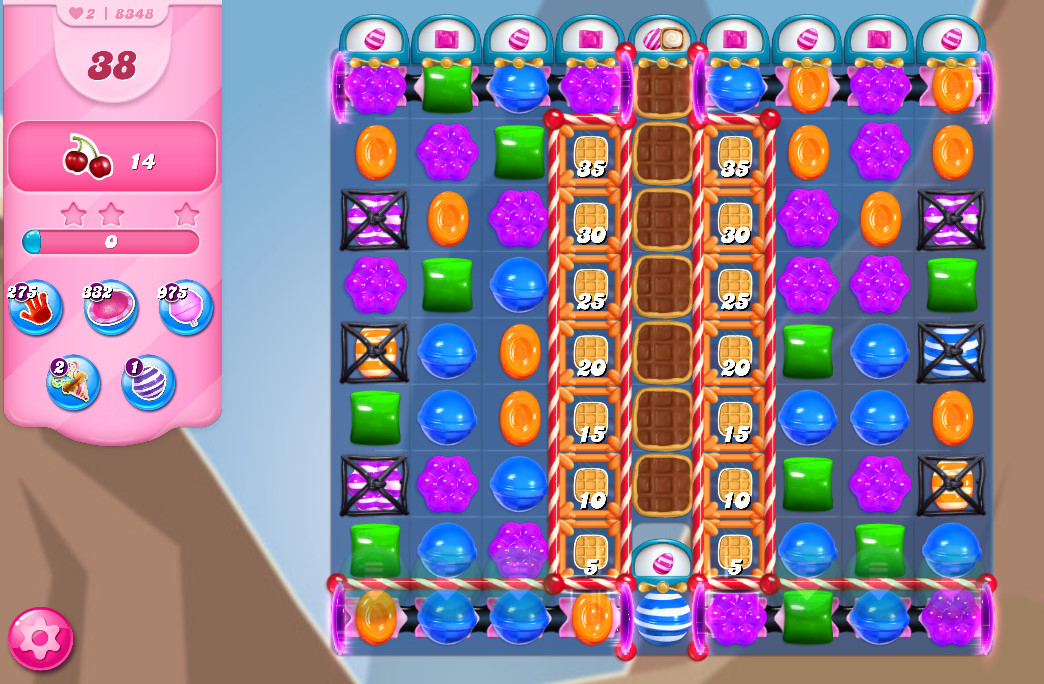 Candy Crush Saga level 8348