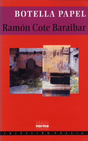 Botella papel | Ramón Cote Baraibar