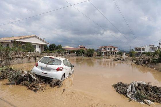 Οι εικόνες των πλημμυρών στην Εύβοια ας γίνουν μαθήματα σε όλους μας!