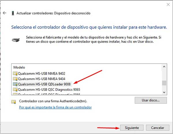 How to install Qualcomm USB drivers on Windows
