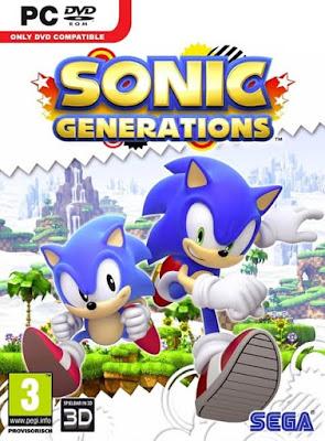 Capa do Sonic: Generations