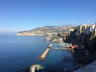 Beautiful views abound in Sorrento