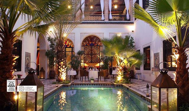 Luna de miel en un lujoso riad de Marrakech - Foto: www.riad-monceau.com