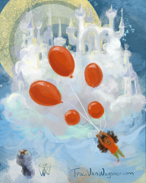 Another Red Balloon adventure by Traci Van Wagoner
