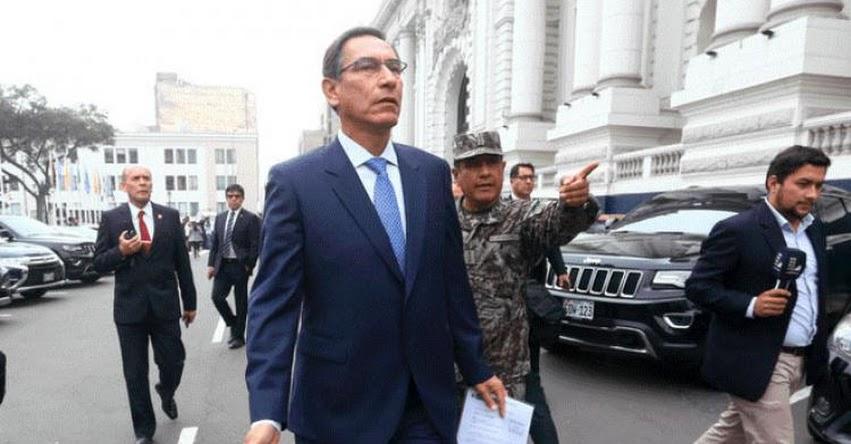 Gobierno presentará hoy cuestión de confianza en el Congreso de la República [EN VIVO]