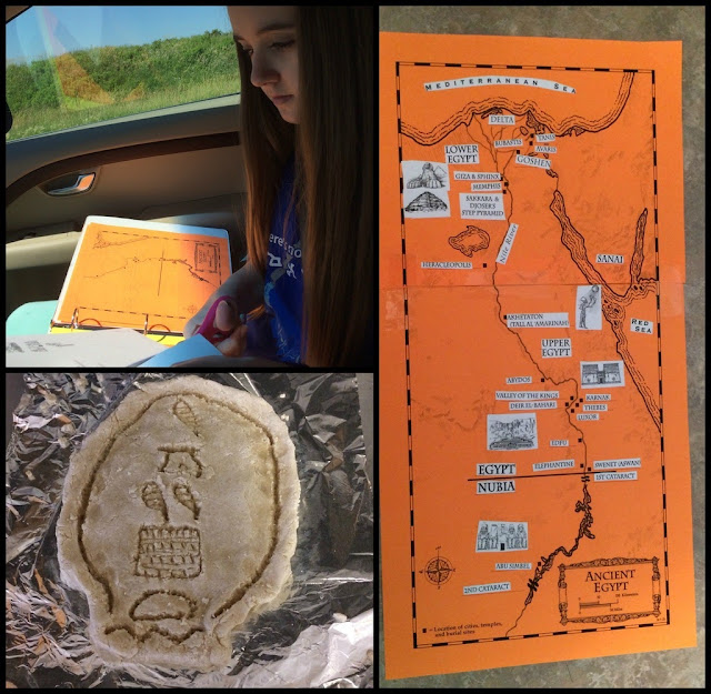 Unexpected Homeschool: A review of Project Passport: Ancient Egypt from Home School in the Woods