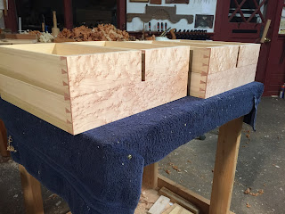 Dovetail Drawers hand cut dovetail joinery