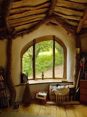 casa de los hobbits en la vida real.