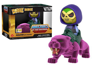 Dorbz Ride: Masters of The Universe – Panthor w/ Battle Armor Skeletor.