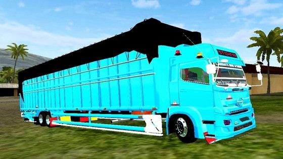 download mod truck hino c8 terpal