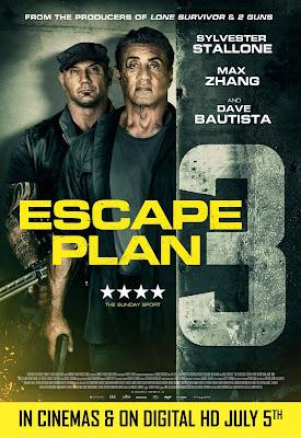 Escape Plan 3 : The Extractors 2019 English 720p DVDRip 1.3GB