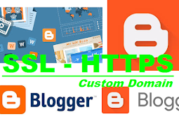 Cara Memasang SSL HTTPS Gratis Custom Domain di Blogspot atau Blogger