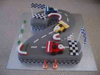 Perfect Boys 2nd Birthday Cakes