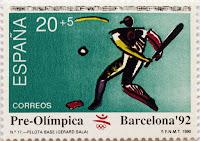 PRE-OLÍMPICA BARCELONA 92. PELOTA BASE