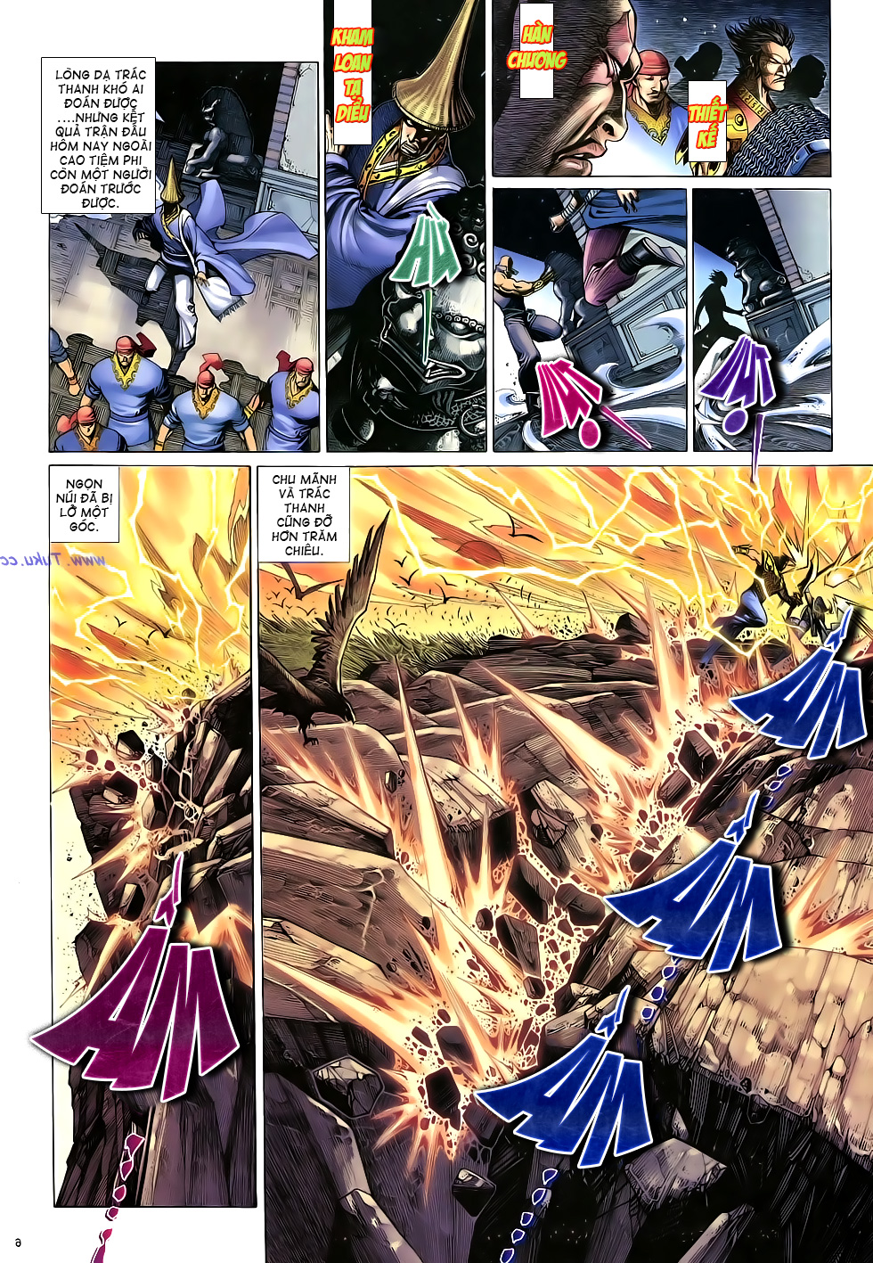Anh hùng vô lệ Chap 16: Kiếm túy sư cuồng bất lưu đấu  trang 7
