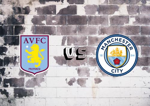 Aston Villa vs Manchester City  Resumen y Partido Completo