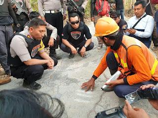 Antisipasi Penyelewengan DD, Tim Cobra Polres Lumajang dan Tim Saber Pungli Cek Kualitas Jalan