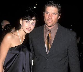Gabriela Oltean with her ex-husband Paul