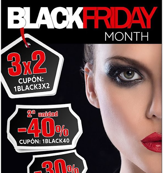 Descuentos Black Friday 2018 (y Cyber Monday...)