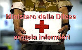 Concorso infermieri Ministero della Difesa - https://www.adessolavoro.com