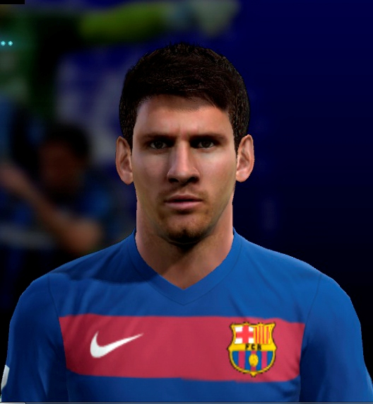 Download Face And Hair Messi [NEW] Pes 2013