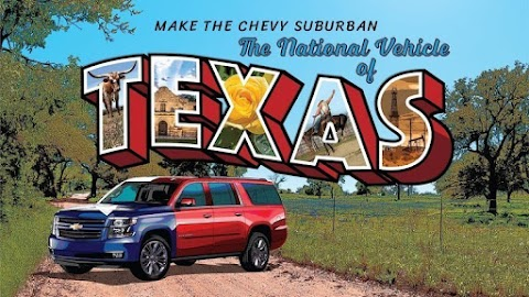 Chevy Wants Suburban Declared National Vehicle of Texas