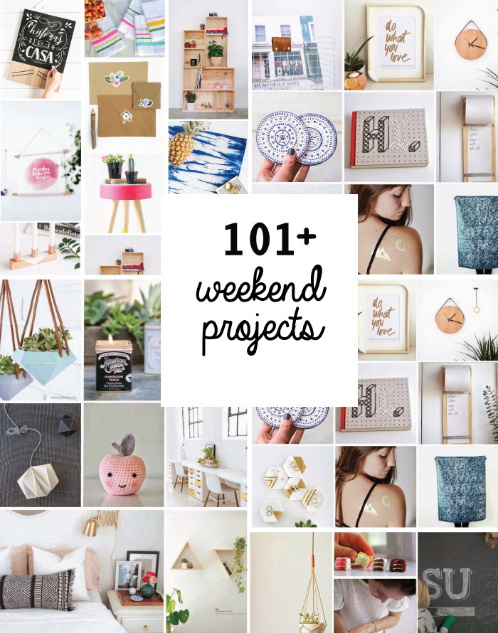 101 Awesome Weekend Diy Projects To Bookmark