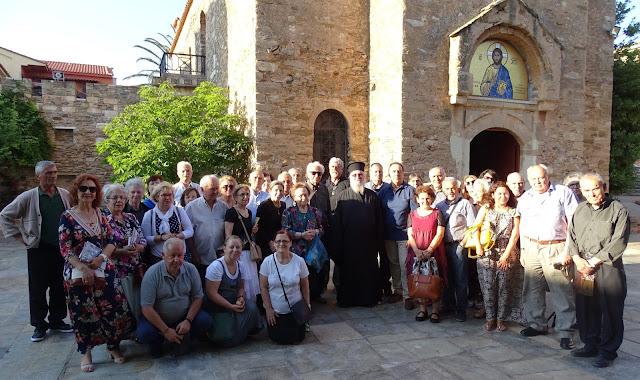 Προσκυνηματική εκδρομή της Χριστιανικής Ένωσης Άργους στην Ιερά Μονή Παντοκράτορος Πεντέλης