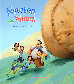 Newton the Newt (Adventures of Newton the Newt Book 1) by Ayla Mammadova - book promotion