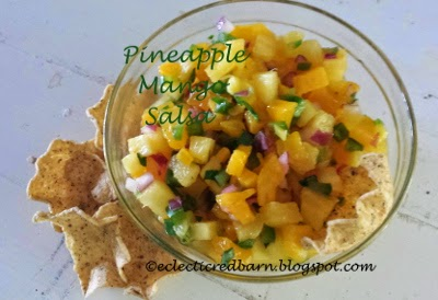 Eclectic Red Barn:  Mango Pineapple Salsa