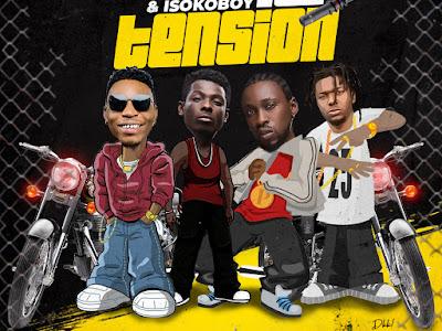 "MUSIC: Solidstar ft. Terry Apala, Orezi & Isoko Boy - ""No Tension"""
