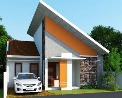 model atap rumah type 36/72