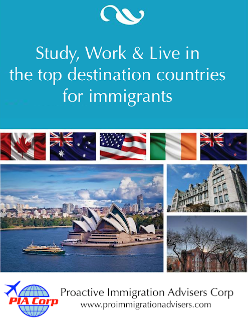 Give Your Family A Quality Life.  Study, Work & Live in Canada, Australia, New Zealand, Ireland or USA