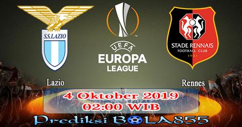 Prediksi Bola855 Lazio vs Rennes 4 Oktober 2019
