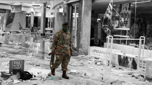 Kerusuhan Mematikan Berlanjut di Afrika Selatan