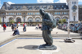 Paris : Aux travailleurs chinois pendant la Première Guerre Mondiale, une oeuvre du sculpteur Li Xiaochao - XIIème