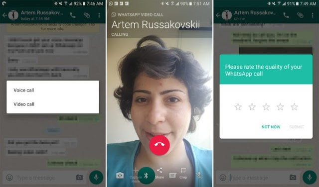 WhatsApp Commence Rollout of Video Calling Feature