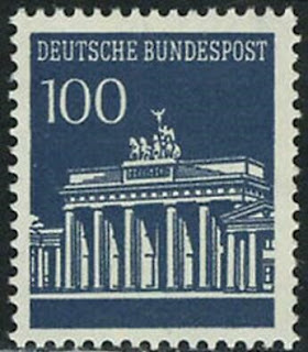 West-Germany 1967 Brandenburg Gate 100 Pf